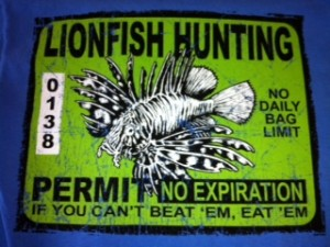 Lionfish Hunting T-shirt